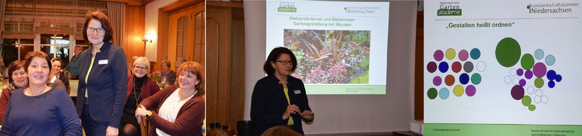 Mechtild Ahlers überzeugte die LandFrauen mit ihrem Wissen und ihrer Leidenschaft für's Gärtnern, das sie gern mit uns teilte!