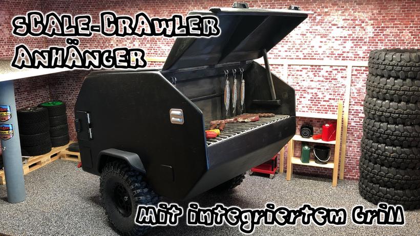 Scale Crawler Anhänger, Maßstab: 1:10
