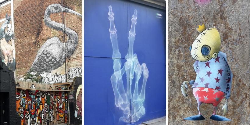 Shoreditch Street Art Tour Erfahrung