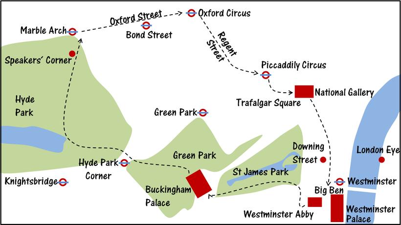 Spartipps London - Erkunde die Stadt zu Fuß (London günstig Tipps)