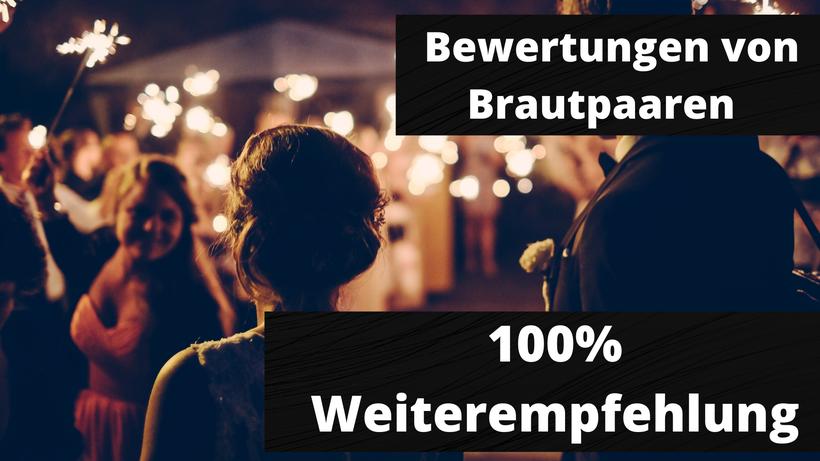 Top Bewertungen von Brautpaaren, Super Stimmung mit DJ Jan