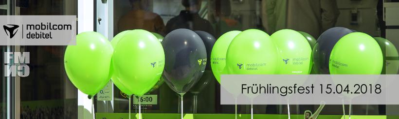 15.04.2018 Frühlingsfest bei mobilcom-debitel Hohenstein-Ernstthal