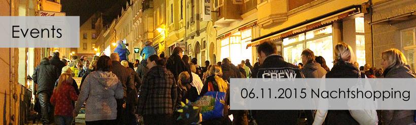 Hohenstein-Ernstthal Nachtshopping 06.11.2015 Weinkellerstraße verkaufsoffen bis 23.00 Uhr mobilcom-debitel Shop Hohenstein RG-Mobile