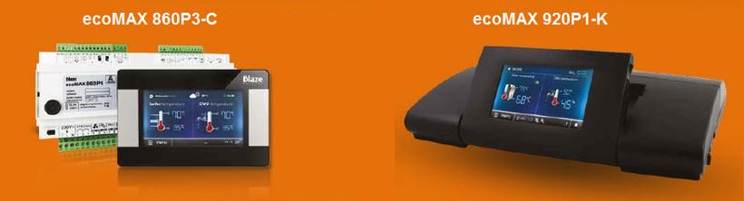 Steuerung Blaze ecoMAX 860P3-C und ecoMAX920P1-K für Pelletkessel