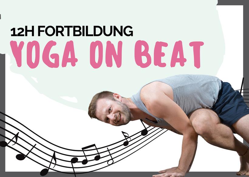 Yoga on beat Fortbildung Yoga NRW