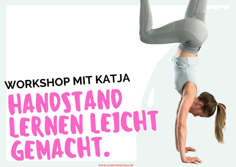Handstand lernen Leverkusen Workshop