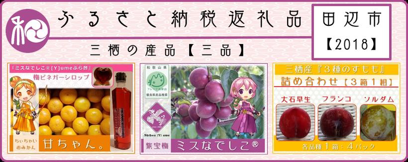 ふるさと納税返礼品【田辺市 2018】 和×夢 nagomu farm