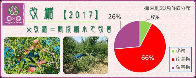 改縮【適正面積へ縮小】2017レポート  和×夢 nagomu farm