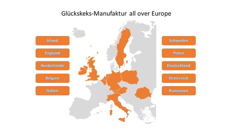 Die Glückskekse aus der Glückskeks-Manufaktur unterwegs in Europa