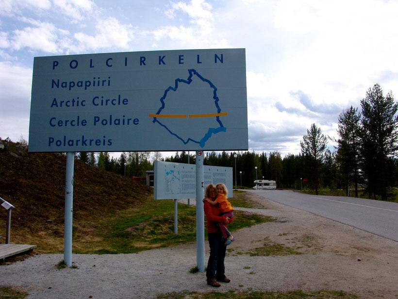 am Polarkreis!
