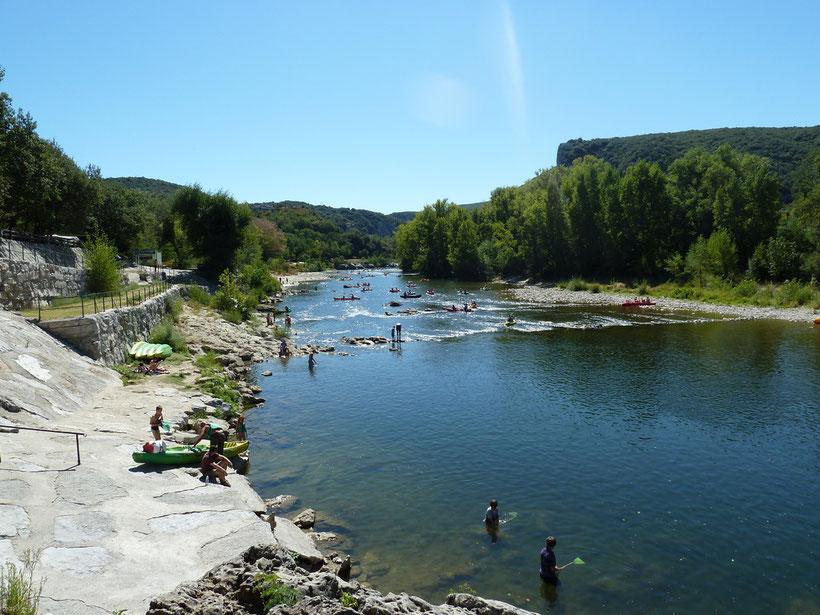 Nachsaison an der Ardèche
