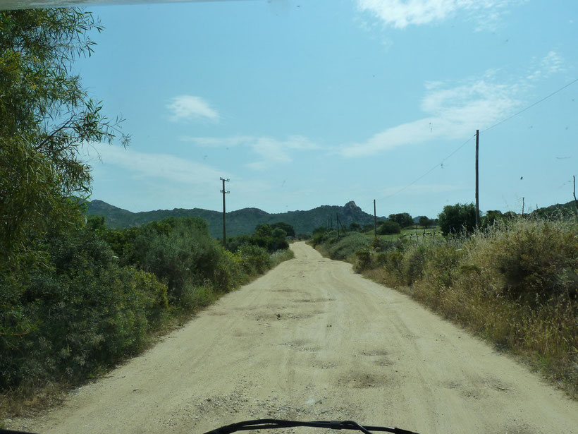 Rüttelpiste ins Paradies: Rio Berchida
