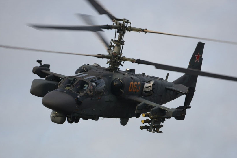Ka-52 Alligator © Russian Helicopters