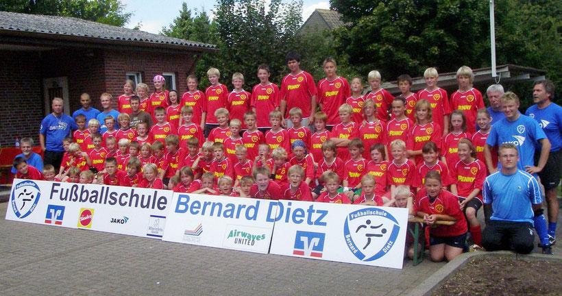 2008: Fuballschule Dietz beim 1. SC Lippetal