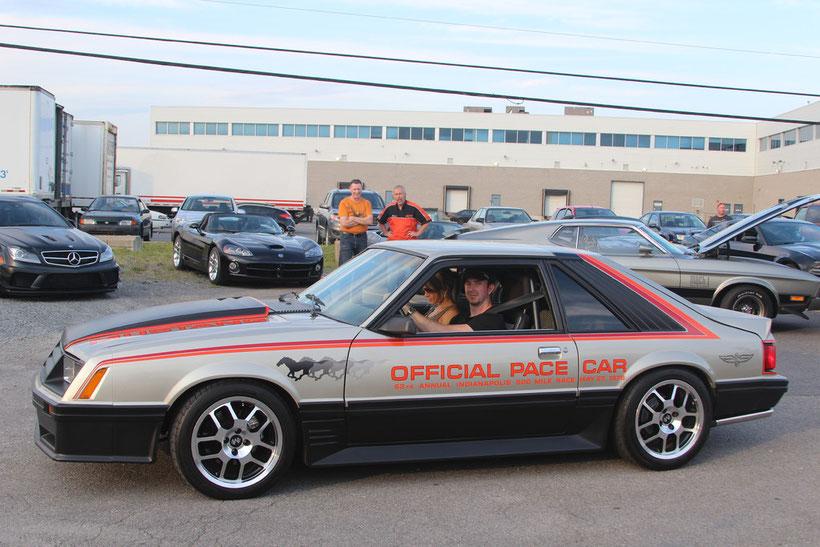 Mustang Indy 500 Pace Car '79  de Pascal Pellerin