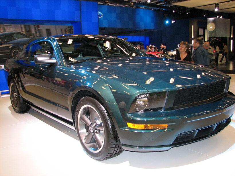 Mustang Bullitt 2008  ¤