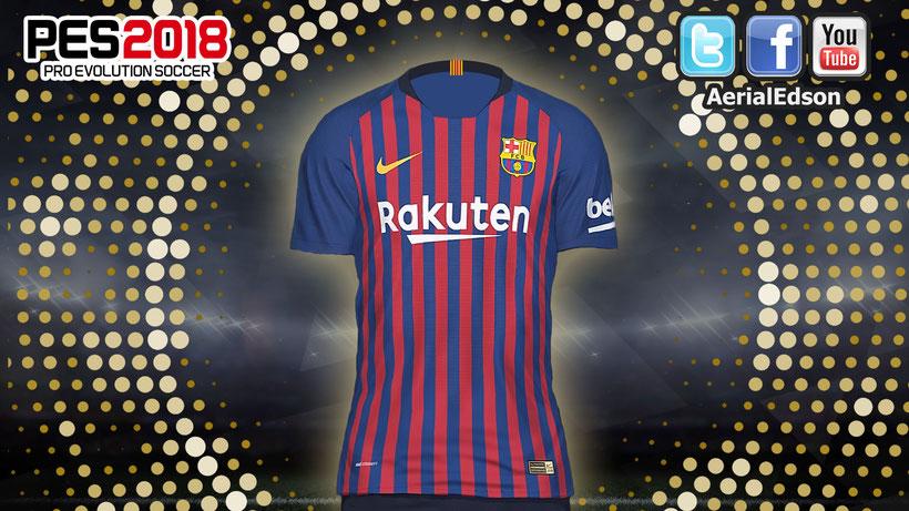 c28d73502 Descarga el kit casa del FC Barcelona temporada 18 19 AQUÍ