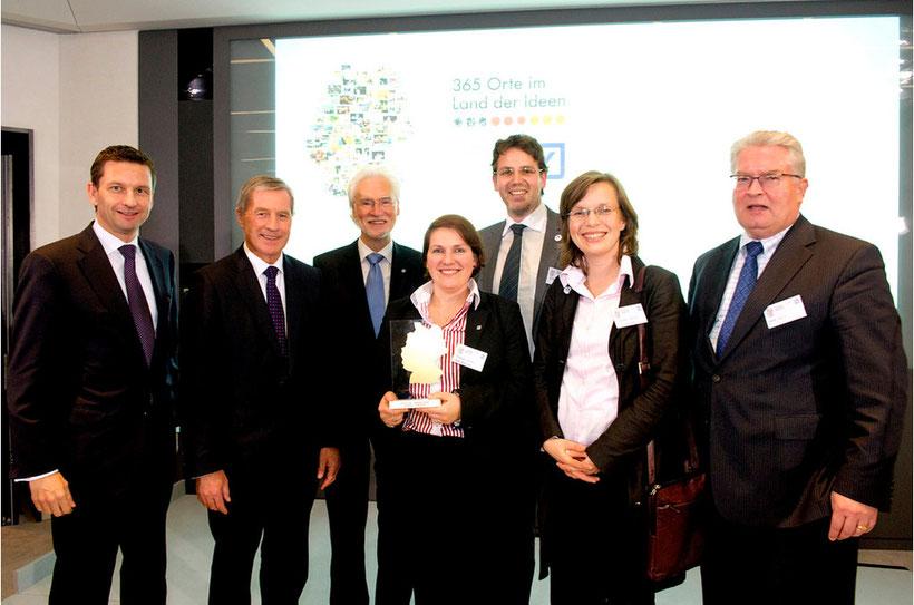 Preisverleihung in Frankfurt: Bundessieger im Land der Ideen 2011