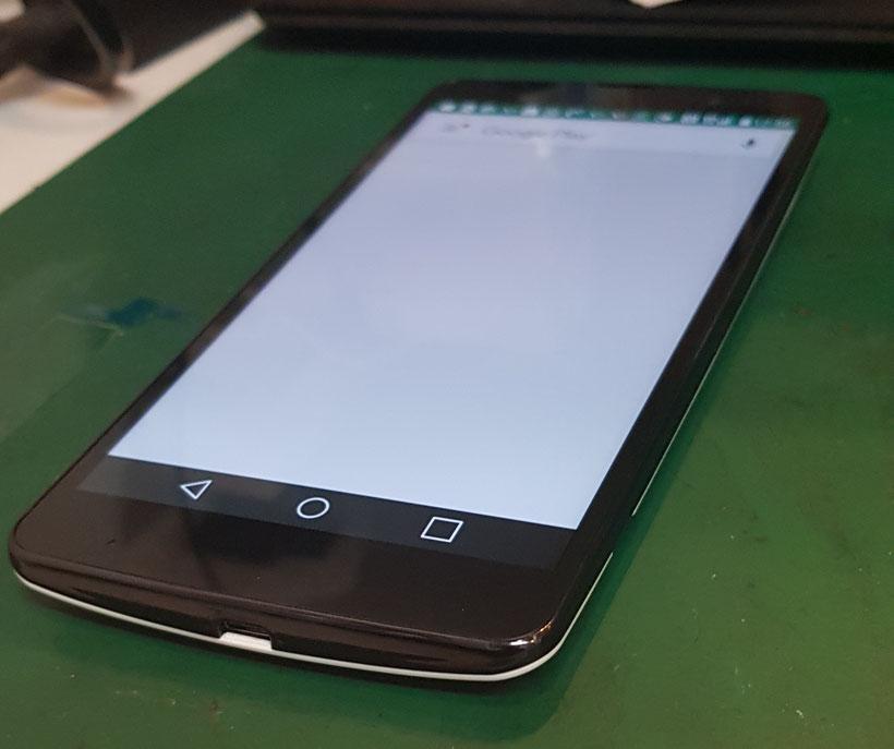 LG社製 LGV32の起動確認
