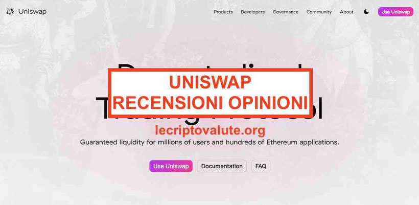 dove e come comprare Uniswap recensioni: come funziona exchange Previsioni token