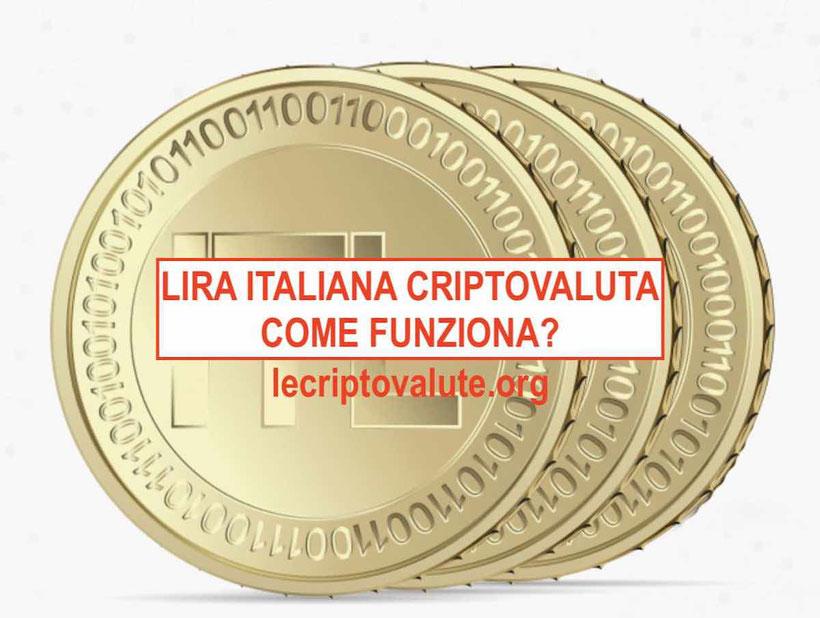 lira italiana criptovaluta come funziona come comprare
