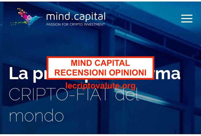 ▷ Mind Capital Italia recensioni opinioni: sospeso da CONSOB