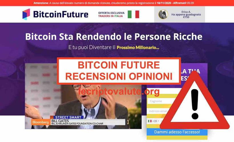 Matteo Salvini non ha investito in Bitcoin Future opinioni recensioni