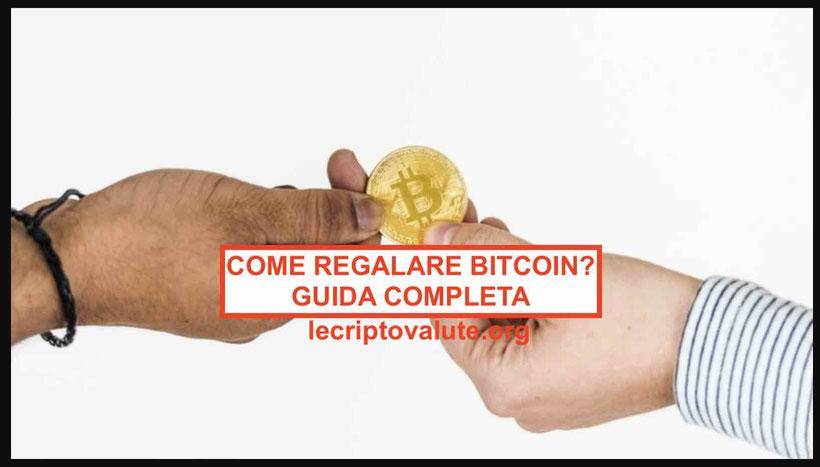Come regalare Bitcoin a Natale e guadagnare senza rischi nel 2020-2021