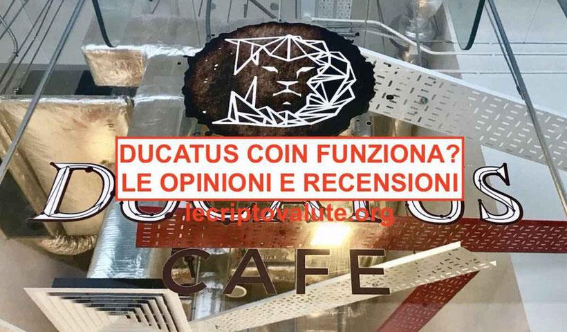 ducatus coin criptomoneta italia truffa schema ponzi