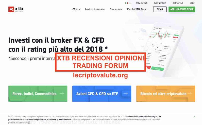 XTB broker opinioni recensioni truffa? Guida completa 2019 - 2020