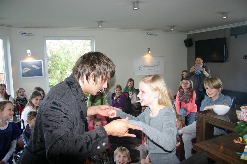 Zauberer für Kinder Hamburg