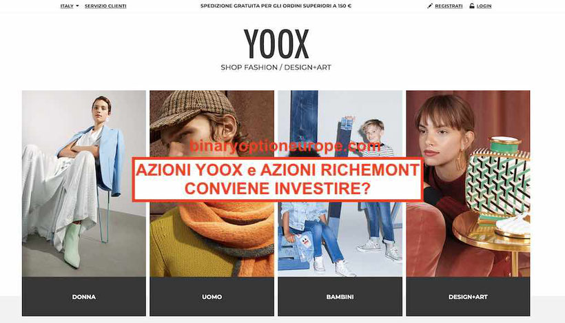Azioni Yoox: conviene investire quotazione valore azioni Richemont
