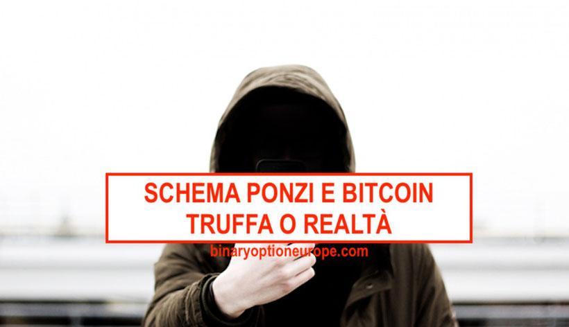 bitcoin schema ponzi truffa come difendersi