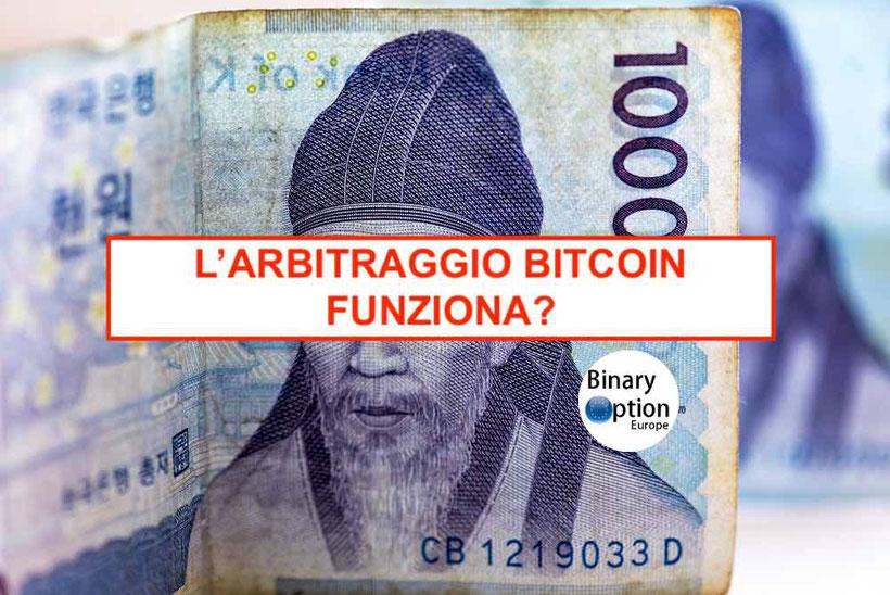 bitcoin arbitraggio criptovalute software