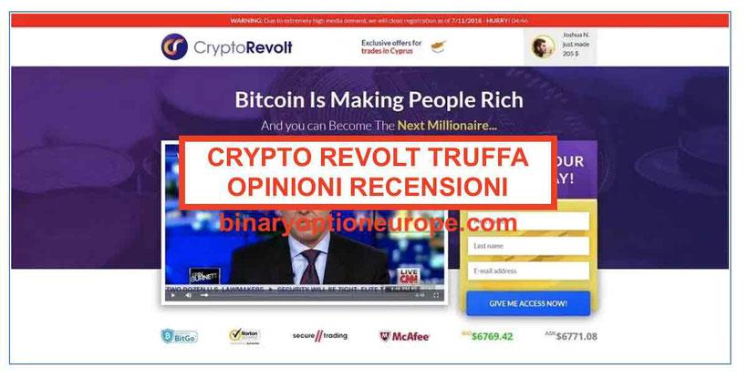 Crypto Revolt recensioni e opinioni:funziona o truffa Andrea Agnelli