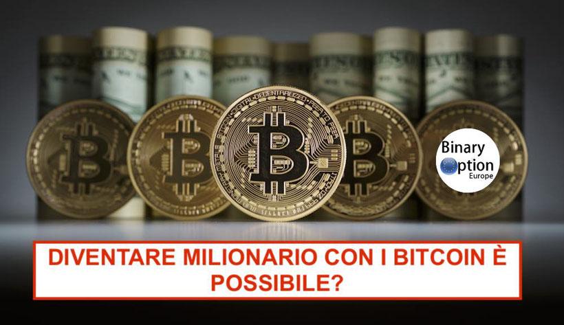 come diventare milionario  e ricco con bitcoin