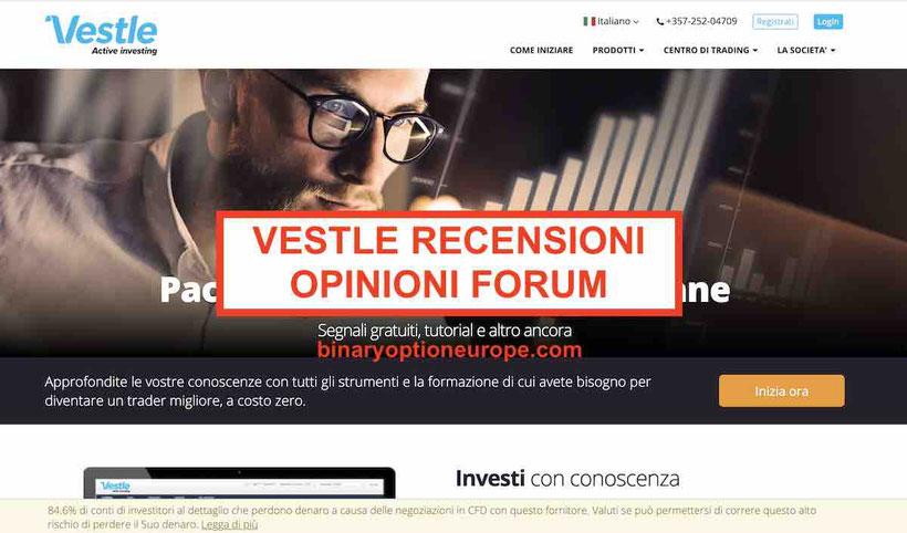 Vestle recensioni opinioni broker iForex truffa o affidabile 2020
