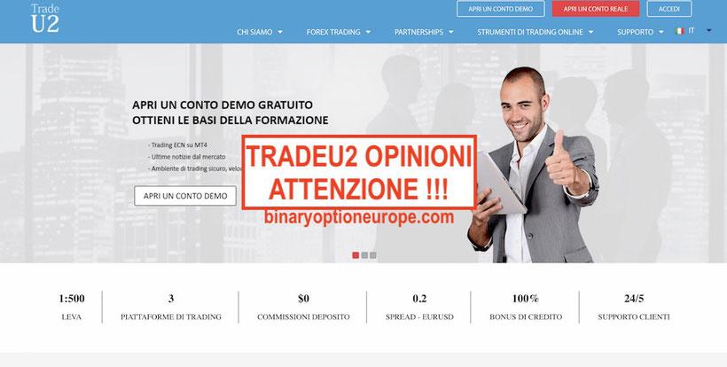 tradeu2 opinioni truffa recensioni broker italiano