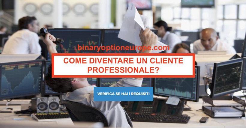 Come diventare Cliente professionale investous: vantaggio leva alta