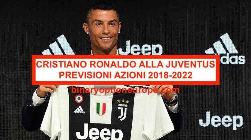 Cristiano Ronaldo alla Juventus azioni previsioni obiettivo 1 euro