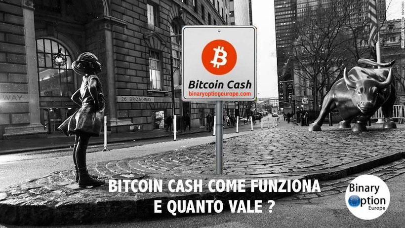 quanto vale un bitcoin cash in euro oggi