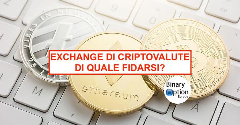 migliori exchange di criptovalute italia 2020