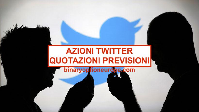 4112ea9296 ▷Comprare Azioni Twitter quotazioni: grafico notizie previsioni ...