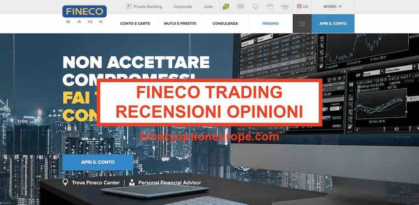 Fineco opinioni trading piattaforma recensioni e commenti truffa 2019
