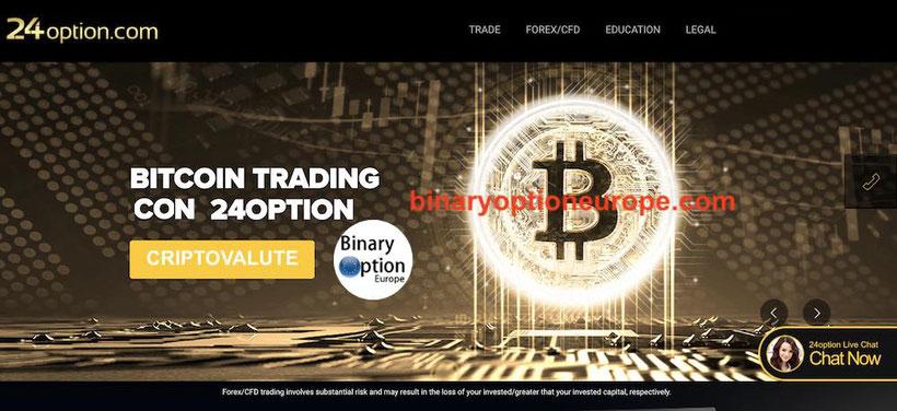 24option bitcoin  criptovalute opinioni recensioni