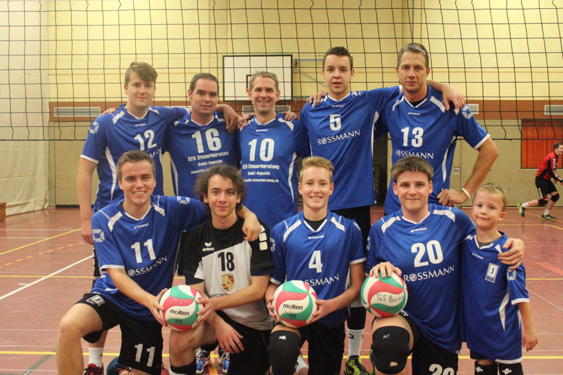 2. Mannschaft 2017/2018 (Aufstieg in die Verbandsliga)