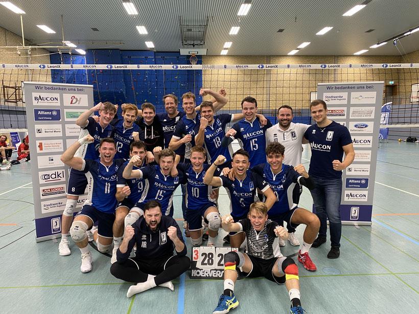 Herren I 2017/2018, Aufstieg in die Regionalliga
