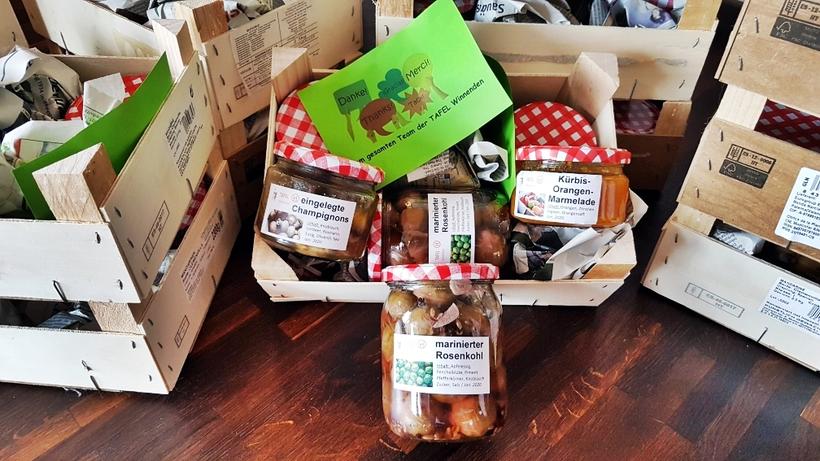 Im Januar 2020 hat die Tafel Winnenden ein kleines Dankeschön an unsere Lebensmittelspender verteilt. DANKE!