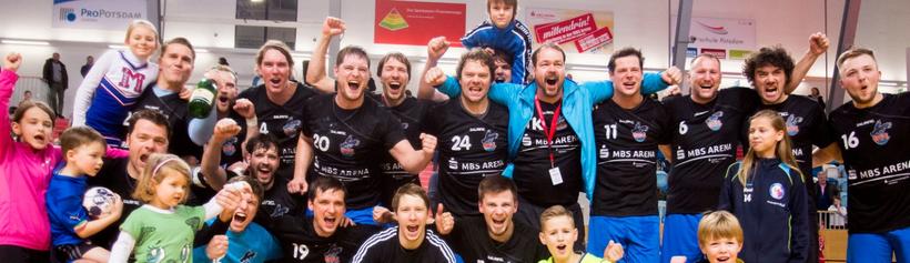 Die Steinadler des VfL Potsdam - amtierender Landespokalsieger - kommen zur Saisoneröffnung