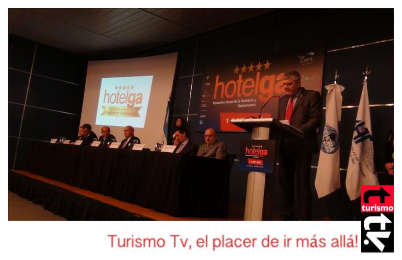 Hotelga 2015: Roberto Brunello en el discurso inaugural Turismo Tv, Televisión Turística
